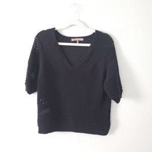 Halston Heritage Knitted Sweater size Large